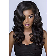 Peruvian Human Hair 10-28Inch Body Wave Natural Color Full Lace Wigs,In Stock
