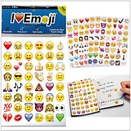 2015New 960pcs/pack emoji stickers Popular Emoji stickers For Mobile Phone Kids Rooms Home Decor