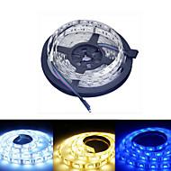 Ding Yao 5M 60/m 5050 SMD Warm White/White/RGB/Red/Yellow/Blue 48W RGB Strip Lights DC 12V