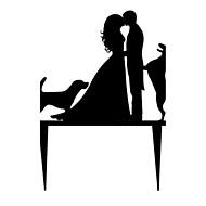 Buchstabe & Nummer ( Schwarz , Acryl ) - Nicht-personalisierte - Hochzeit/Jubliläum/Brautparty