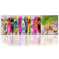 pared star®surfboard visual decoración de la playa de arte / arte de la decoración de la pared playa / tabla de surf estiró la impresión