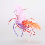 Women's Feather Headpiece - Wedding/Special Occasion Headbands/Hats 1 Piece
