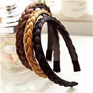 витая парик кос волос ленты для волос косы оголовье полосы головные уборы для женщин оголовье аксессуары для волос Hairbands