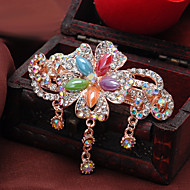 Women Rhinestone/Alloy Fashion High-End Barrette With Wedding/Party Headpiece