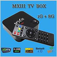New MX3 Android 4.4 TV Box Amlogic S812 Quad Core 1GB/8GB WIFI HDMI 4K XBMC Smart TV Media Player