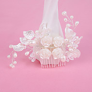 Women's Pearl/Alloy Headpiece - Wedding/Special Occasion Hair Combs 1 Piece