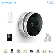 Snov Wifi IP IR Surveillance Camera With Wireless Door Sensor, 32GB TF card, HD Baby Monitor, P2P, Android APP & iOS