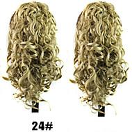 senhoras da forma de comércio garra grampo de cabelo de rabo de cavalo # 24 cor da UE