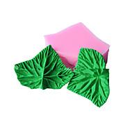 forma de folha moldes fondant bolo decoração do molde