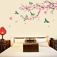 Botanical / Florals Wall Stickers Plane Wall Stickers Decorative Wall Stickers,PVC Material Removable Home Decoration Wall Decal