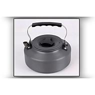 portable 1.1l aluminium extérieur bouilloire Camping théière d'eau de pique-nique pot de café Ustensiles