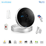 Box IP Camera 720P Night Vision IR-cut Day Night Motion Detection Wifi Wireless