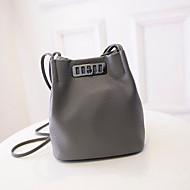 Women Casual/Outdoor PU Twist Lock Shoulder Bag