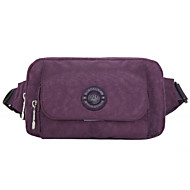 Women Polyester Sports / Outdoor Waist Bag Purple / Green / Red / Gray / Black