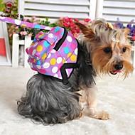 Σκυλιά σακκίδιο Χαριτωμένο και μαζεμένος Πουά Πολύχρωμο Ύφασμα