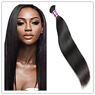 3Pcs/Lot Best Quality 300Gram Natural Raw Unprocessed Virgin Brazilian Hair Bulk For Braiding Hair Wholesale