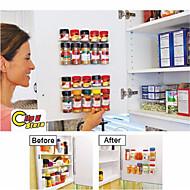 klip n sklad kuchyň láhev koření organizátor stojanu dveře koření spony 20-clip set