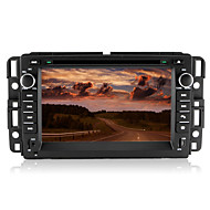 "7 ""2 DIN bil DVD spiller for 2007-2013 gmc med bluetooth, gps, ipod, CANbus"