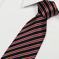 polyester yarn Arrow Type Jacquard Striped Men Tie Necktie
