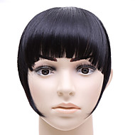 1pc / lot 35g / pack multi gerade b3 hitzebeständig Clips in fringe synthetische Haarverlängerung
