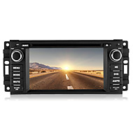 "6.2 ""1 DIN bil DVD spiller for 2007-2010 jeep / commander / kranglefant med bluetooth, gps, ipod, CANbus"