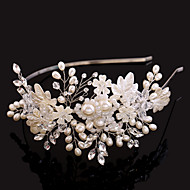 Women's/Flower Girl's Rhinestone/Imitation Pearl Headpiece - Wedding/Special Occasion Hair Combs 1 Piece