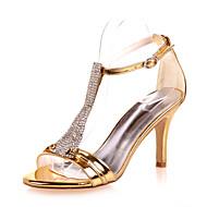 סנדלים - נשים - נעלי חתונה - פתוח - חתונה / מסיבה וערב - שחור / כחול / כסוף / זהב