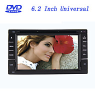 6.2 Inch Universal 2 Din In-Dash Car DVD Player with Bluetooth,Touch Screen,RL-265DNN04