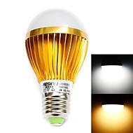 HESION® HS01005A E27 5W 520LM 3500K/6000K  Warm White/Cool White Light Lamp - Golden(85~265V)