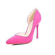 Women's Shoes Suede Stiletto Heels /Party & Evening /New Fashion Big Yards Autumn Goosegrass Pointed  Heels Wedding