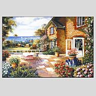 pittura a olio di paesaggio moderno, materiale tela con struttura allungata pronta per essere appesa formato: 60 * 90cm.
