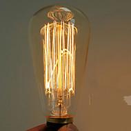40w e27 edison retro luz ST64 lâmpada (220-240V)