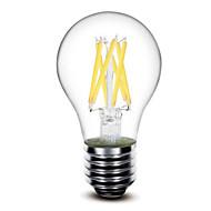 1 pcs shenmeile E26/E27 6 W 6 COB 600 LM Warm White G Dimmable LED Filament Lamps AC 220-240 / AC 110-130 V