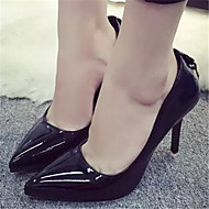 Women's Shoes  Stiletto Heel Pointed Toe Heels Dress Black/Pink/Red/Gray