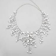 Women's Imitation Pearl/Alloy/Rhinestone Necklace Anniversary/Wedding/Party Crystal/Imitation Pearl/Rhinestone