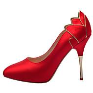 Scarpe da sposa - Scarpe col tacco - Tacchi / Plateau / Chiusa - Matrimonio / Formale / Serata e festa - Nero / Rosso / Bianco / Champagne