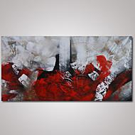 Pintada a mano Abstracto / Paisajes AbstractosModern Un Panel Lienzos Pintura al óleo pintada a colgar For Decoración hogareña