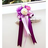 Rose Flower Decoration Car Door & Rearview Mirror(15*40cm)