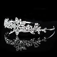 Mujer / Niña de flor Diamantes Sintéticos Celada-Boda / Ocasión especial Tiaras / Bandas de cabeza 1 Pieza
