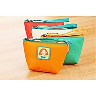 Casual - Portamonete - Unisex - PU - Beige / Verde / Arancione / Rosso
