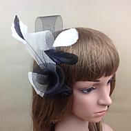 Women's Feather/Net Headpiece - Wedding/Party Cute Fascinators 1 Piece