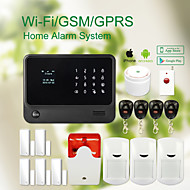 Wireless WIFI+GSM Home thief Security System alarm GS-G90B