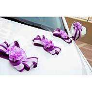 Rose Flower Decoration Car Door & Rearview Mirror(17*13cm)