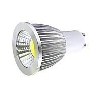 5W GU10 Spot LED MR16 1 COB 400LM lm Blanc Chaud / Blanc Froid Décorative AC 85-265 V 1 pièce