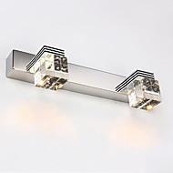 Chandeliers muraux / Eclairage de Salle de bains / Appliques murales Cristal / LED / Style mini Moderne/Contemporain Métal
