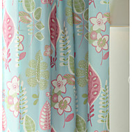 Country Curtains® Two Panels Floral Print Curtains Drapes