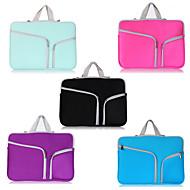 """asling dobbelt lomme taske med lynlås laptop taske til MacBook Air 13,3 """""""