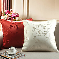 Polyester Pute med Innsetthull , Blomster Moderne / Nutidig / Tradisjonell / Land / Avslappet / Traditionel / Klassisk / Dekorativ