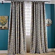 flor impressão apagão duas cortinas de cor cortinas dois painéis