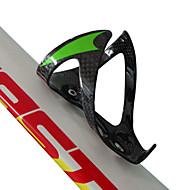 자전거 물 병 케이지 사이클링 산악 자전거 도로 자전거 BMX 기타 TT 고정 기어 자전거 레크 리에이션 사이클 여성 접는 자전거 울트라 라이트 (UL) 견고함 그린 탄소 섬유